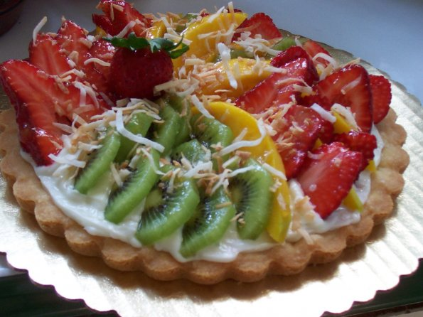 Gemmae's Tropical Fruit Tart