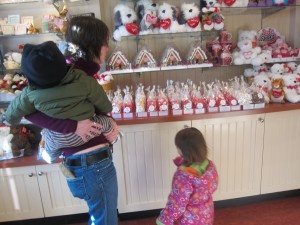 Where are the gingerbread houses? I know it's past Christmas, but really, only a few of these small Valentine houses?
