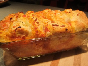 Pizza pull-apart loaf!