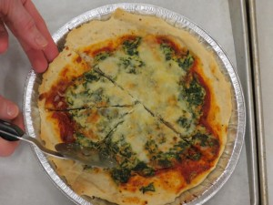 we also sampled the pizza pie
